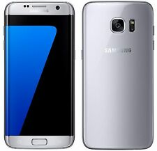 "Samsung Galaxy S7 Edge SM-G935F Silver (FACTORY UNLOCKED) 5.5"" QHD, 32GB"