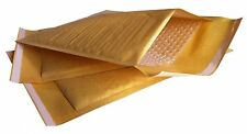 500 x MP1 (GOLD) BUBBLE LINED ENVELOPES PADDED BAGS