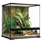EXO TERRA Natural Terrarium Glas 60x45x60 inkl. Rückwand medium - hoch - tall