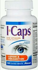 I CAPS EYE VITAMIN LUTEIN & ZEAXANTHIN (120 TABLETS) 6/17 NO BOX