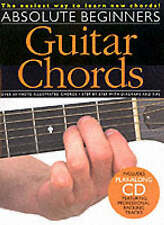 Absolute Beginners: Guitar Chords, book and CD