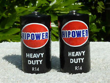 Vintage Hipower R14 Torch Walkman Battery X2 For Display 1980s Very Good Cond