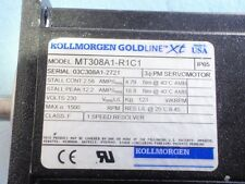 Kollmorgen GoldLine Motor Model # MT308A1-R1C1 USED in Working Condition
