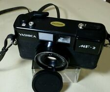 YASHICA MF-2 35MM FILM CAMERA WORKING CONDITIONS.