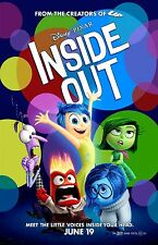 INSIDE OUT 11X17 Movie Poster collectible NEW CLASSIC