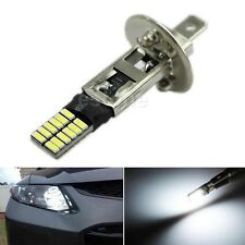 6500K 24-SMD HID Xenon White H1 LED Replacement Bulbs For Fog Lights Driving