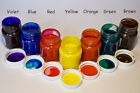 GLASS PAINT 50ml - Violet, Red, Blue, Yellow, Orange, Green, Brown