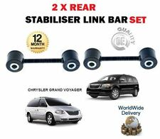 FOR CHRYSLER GRAND VOYAGER 2.0 2.4 2.5TD 2.8TD 3.3i 2 X REAR STABILISER LINK BAR