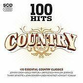 Various Artists - 100 Hits - Country - 5 X CD Set