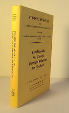 Combinatorial Set Theory: Partition Relations for Cardinals 1984 Erdos Math