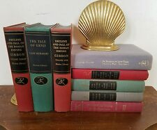 Lot of 8  MODERN LIBRARY SERIES Vintage Books Instant Shelf Decor Prop GIANT