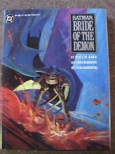 Batman: Bride Of The Demon Hard Cover mint condition