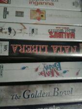 6 VHS IL CUBO 2 - Nido di vespe - The Yards - Paycheck - CODICE 51- THE JOE