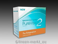 PureVision 2HD for Astigmatism (Toric)  1×6 Stück - Neu&OVP