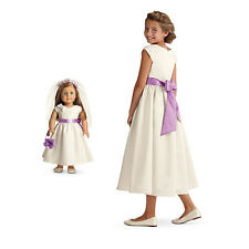 American Girl CL MY AG DUO FANCY OCCASION DRESS Girls (6) & Doll Gown Communion