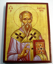 Saint Alexander Alex Hl.Alexandros Icon Icoon Icona ИКОНА Icone San Alejandro