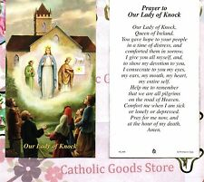 Our Lady of Knock - Prayer to Our Lady of Knock - Paperstock Holy Card