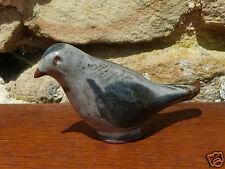 oiseau céramique poterie terre cuite vernissé régionale Poncé style Vallauris 50