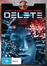 Delete (DVD, 2014) Horror/Sci-fi [Region 4] DoomsDay Series NEW/SEALED