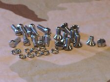 Knucklehead, Panhead Chrome Primary, Inspection & Derby Cover Screws. 36 - 64