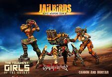 Raging Heroes The Jailbirds Heavy Weapons Team #01