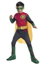 Kids Robin Costume Batman DC Comics Halloween Child Size Small 4-6