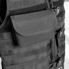 Protec black MOLLE landscape tac pouch