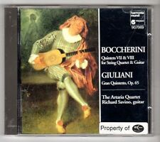 (GY262) Boccherini: Guitar Quintets Nos. 7 & 8 - Giuliani - 1993 CD