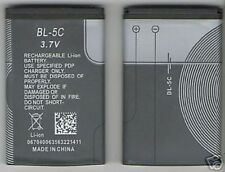 NEW BATTERY FOR NOKIA BL5C 2600 2610 3100 3105 3120 3600 3620 3650 3660 6030 E60