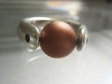 Perle - Kupfer seidenmatt - kompatibel mit tipit M - 10mm -