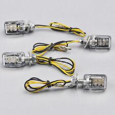 4x6 LED Mini Motorcycle Turn Signal Light Indicator Yamaha Kawasaki Honda J25