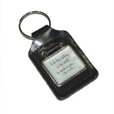 I Love Nothing in the World Quote Key Ring FOB CHAIN BAG CHARM Present GIFT BOX