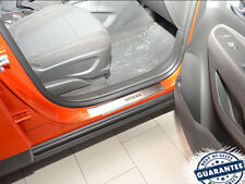 Opel Mokka 2013- Stainless Steel Door Sill Entry Guard Covers Scuff Protectors