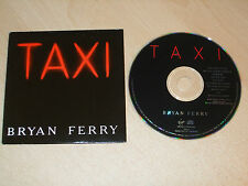 Bryan Ferry - Taxi (CDs) 10 Track Promo Album - Mint - Fast Postage - Rare
