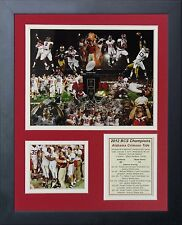 11x14 FRAMED 2012 ALABAMA CRIMSON TIDE BCS NATIONAL CHAMPIONS 8X10 PHOTO