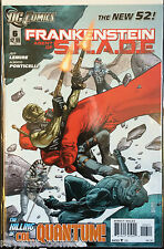 Frankenstein Agent of Shade #6 NM- 1st Print DC Comics