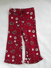GYMBOREE APLINE SWEETIE RED HEART WINTER PANTS HOLIDAY SIZE 18-24 MONTHS