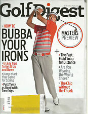 Golf Digest April 2013 Bubba Your Irons/Masters Preview/Jump-start your spring