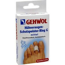 3 pcs GEHWOL Gel Silicone Bunion Protector Toe Separator Corn Protection Ring G