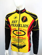 Castelli full zip Mens Long Sleeve Cycling Top Jersey Size : L