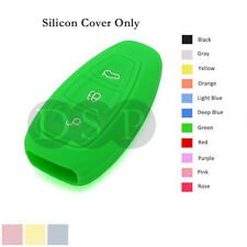 Silicone Cover Holder fit for FORD Fiesta Focus Mondeo Smart Remote Key Case GN