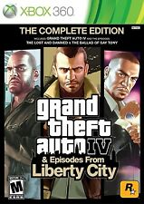 XBOX 360 GAME GRAND THEFT AUTO IV COMPLETE EDITION BRAND NEW & SEALED
