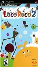 LocoRoco 2 UMD PSP RE-SEALED COMPLETE SONY PLAYSTATION PORTABLE LOCO ROCO GAME