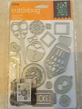 Cricut Cuttlebug Cut & Emboss Die Set - Lost and Found  NEW