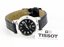 Tissot T0332101605300 Dream Black Dial Black Leather Strap Women's Watch -NEW