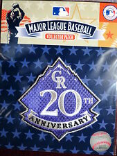 MLB Official Authentic Colorado Rockies 20th Anniversary Patch 2013