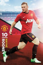 Wayne Rooney Manchester United Player Poster officially licensed product new EPL