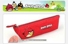ANGRY BIRDS CANVAS WATERPROOF MULTIDECK PENCIL BOX WRITING CASE