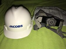 MSA V-Gard Hard Hat With Fas-Trac II Jacobs Logo NIB