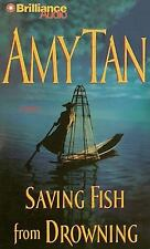 Saving Fish from Drowning by Amy Tan (2009, CD, Abridged)